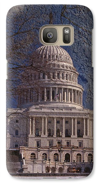 United States Capitol Galaxy S7 Case by Skip Willits