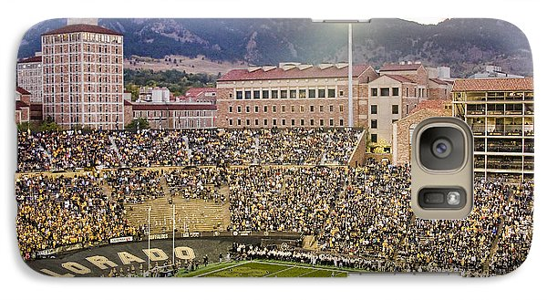 University Of Colorado Boulder Go Buffs Galaxy Case by James BO  Insogna