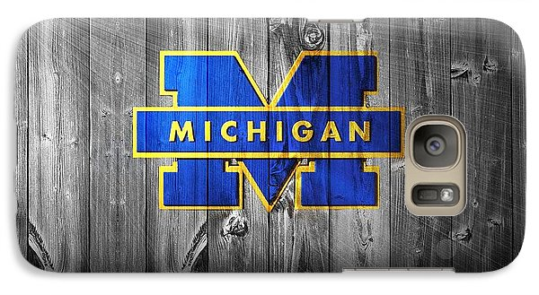 University Of Michigan Galaxy Case by Dan Sproul