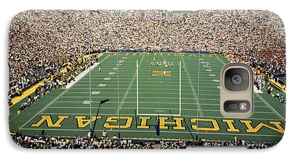 University Of Michigan Stadium, Ann Galaxy Case by Panoramic Images