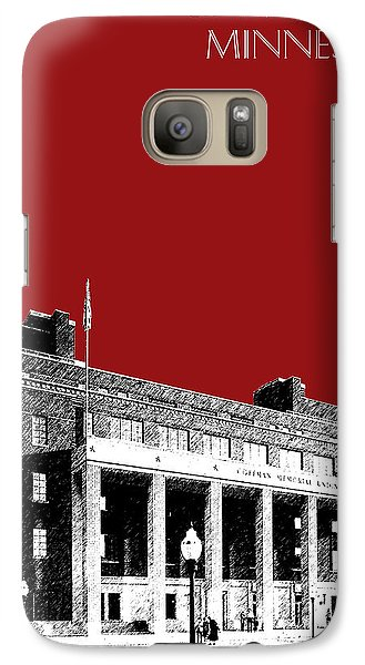 University Of Minnesota - Coffman Union - Dark Red Galaxy Case by DB Artist