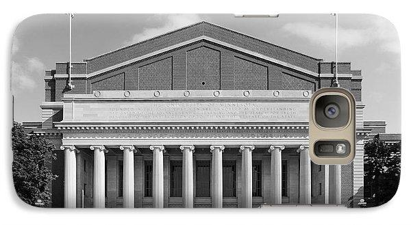 University Of Minnesota Northrop Auditorium Galaxy S7 Case by University Icons
