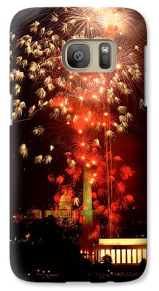 Usa, Washington Dc, Fireworks Galaxy Case by Panoramic Images