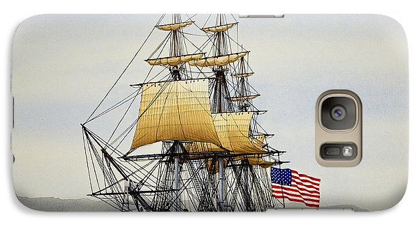 Uss Constitution Galaxy S7 Case by James Williamson