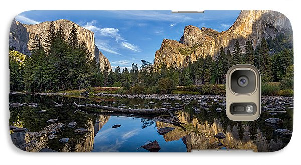 Valley View I Galaxy Case by Peter Tellone