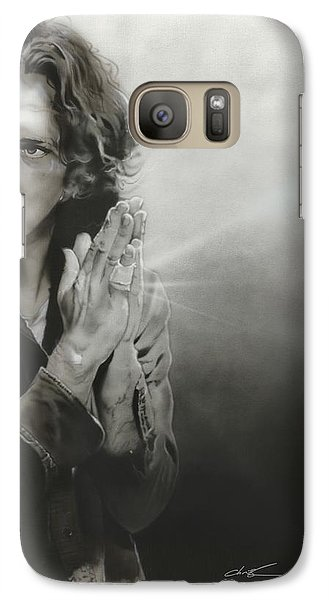 Eddie Vedder - ' Vedder Iv ' Galaxy Case by Christian Chapman Art