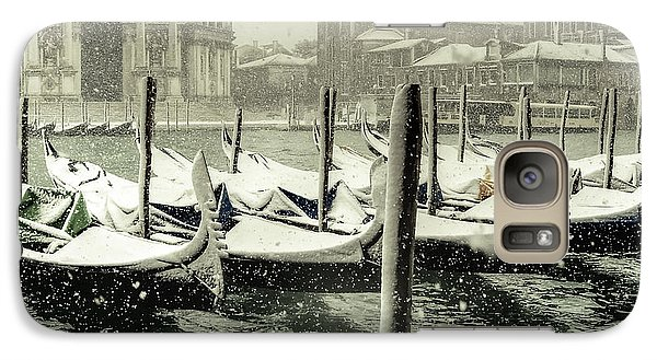 Galaxy Case featuring the photograph Venice In White by Thierry Bouriat