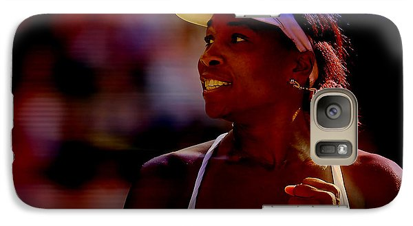 Venus Williams Galaxy S7 Case by Marvin Blaine