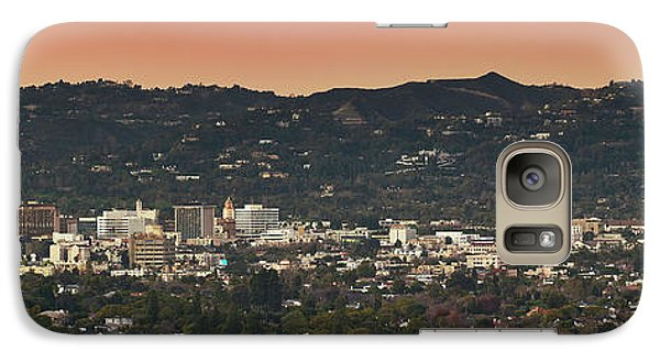 View Of Buildings In City, Beverly Galaxy S7 Case by Panoramic Images