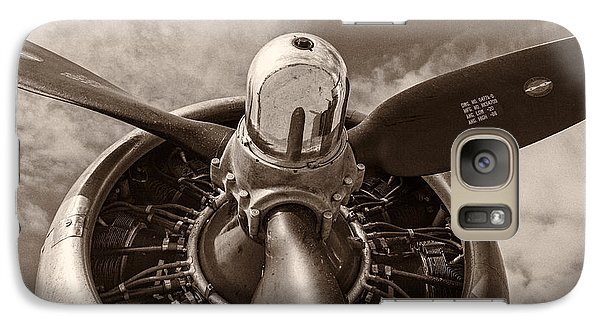 Vintage B-17 Galaxy Case by Adam Romanowicz