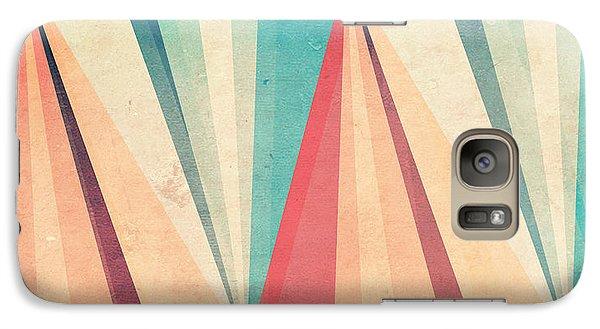 Vintage Beach Galaxy S7 Case by VessDSign