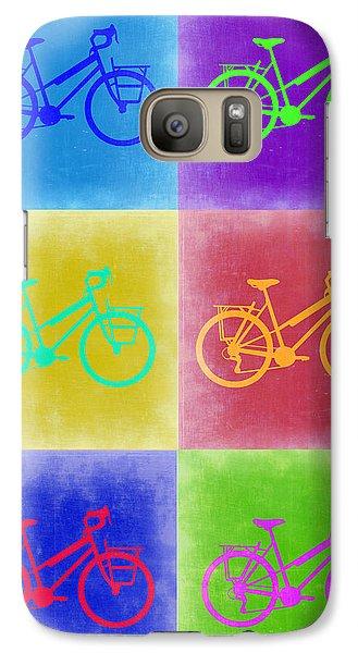 Vintage Bicycle Pop Art 2 Galaxy S7 Case by Naxart Studio