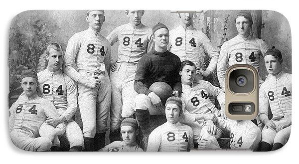Vintage Football Circa 1900 Galaxy S7 Case by Jon Neidert