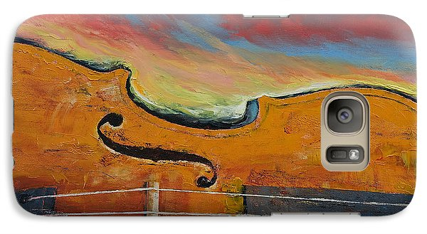 Violin Galaxy Case by Michael Creese