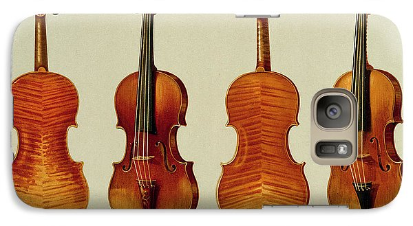 Violins Galaxy Case by Alfred James Hipkins