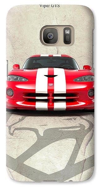 Viper Gts Galaxy S7 Case by Mark Rogan