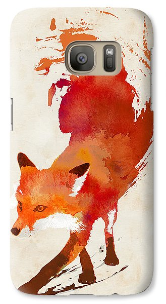 Vulpes Vulpes Galaxy Case by Robert Farkas