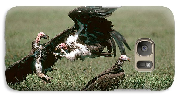 Vulture Fight Galaxy Case by Gregory G. Dimijian, M.D.