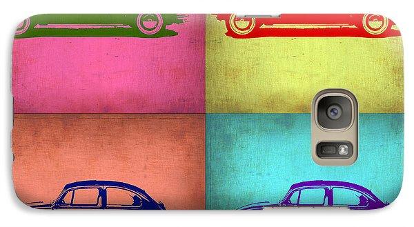 Vw Beetle Pop Art 1 Galaxy Case by Naxart Studio