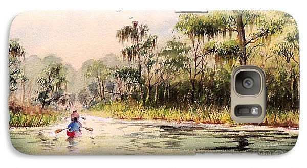 Wacissa River  Galaxy Case by Bill Holkham