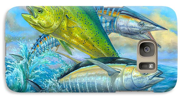 Wahoo Mahi Mahi And Tuna Galaxy S7 Case by Terry  Fox