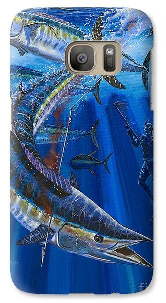 Wahoo Spear Galaxy Case by Carey Chen