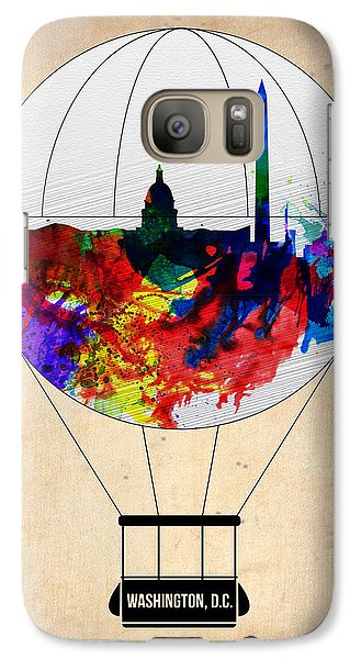 Washington D.c. Air Balloon Galaxy Case by Naxart Studio