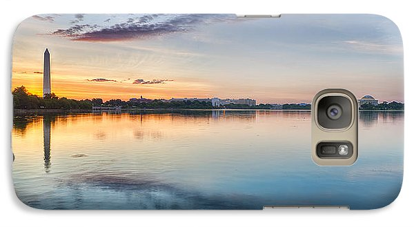 Washington Dc Panorama Galaxy Case by Sebastian Musial