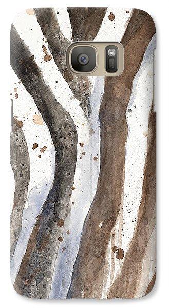 Watercolor Animal Skin II Galaxy Case by Patricia Pinto