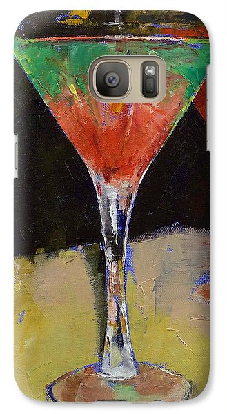 Watermelon Martini Galaxy S7 Case by Michael Creese