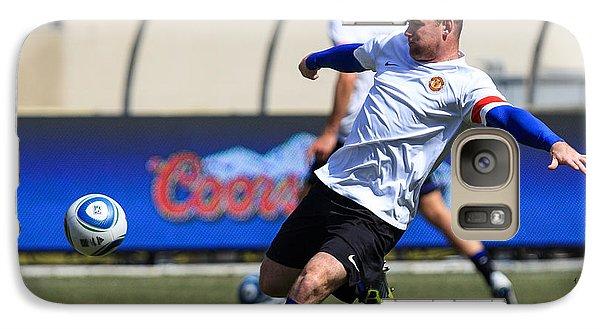 Wayne Rooney Galaxy Case by Keith R Crowley
