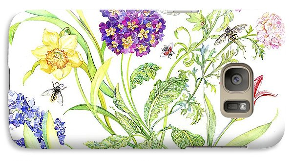 Welcome Spring I Galaxy Case by Kimberly McSparran