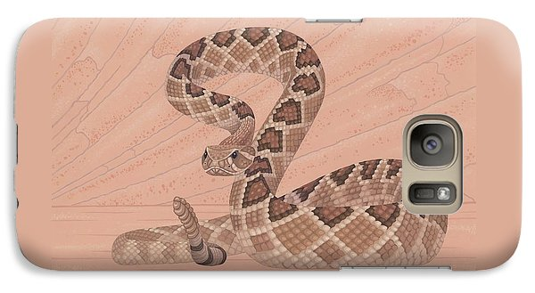 Western Diamondback Rattlesnake Galaxy S7 Case by Nathan Marcy