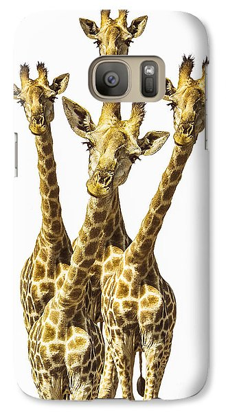 What Are You Looking At? Galaxy Case by Diane Diederich
