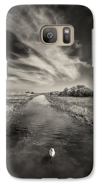 White Swan Galaxy Case by Dave Bowman