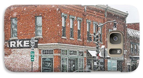 Whitehouse Ohio In Snow 7032 Galaxy Case by Jack Schultz