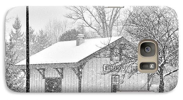 Whitehouse Train Station Galaxy Case by Jack Schultz