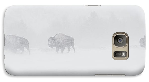 Whiteout Galaxy Case by Sandy Sisti