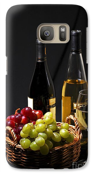 Wine And Grapes Galaxy S7 Case by Elena Elisseeva