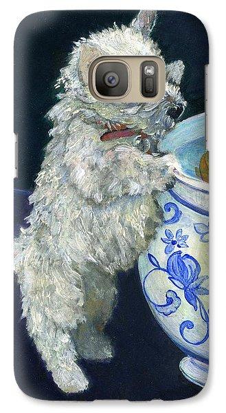 Winnie The Koi Watcher Galaxy S7 Case by Kimberly McSparran