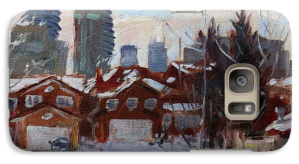 Winter In Mississauga  Galaxy Case by Ylli Haruni
