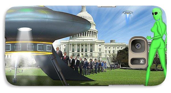 Wip - Washington Field Trip Galaxy S7 Case by Mike McGlothlen