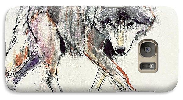 Wolf  Galaxy S7 Case by Mark Adlington