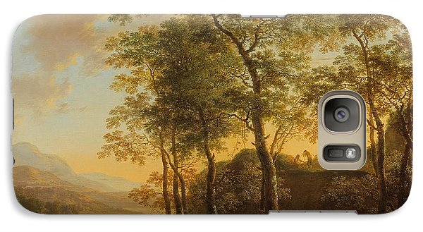 Wooded Hillside With A Vista Galaxy S7 Case by Jan Both