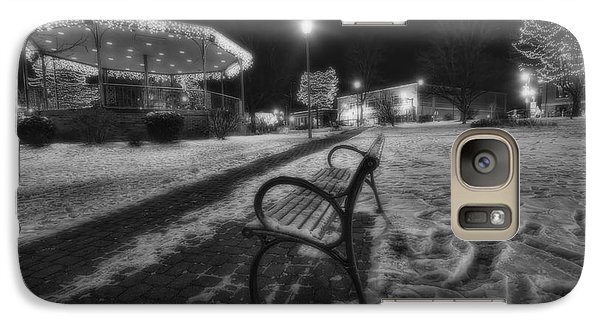 Woodstock Square Xmas Eve Nite Galaxy Case by Sven Brogren