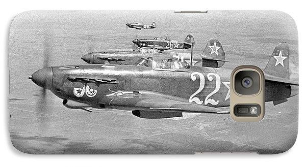 Yakovlev Yak-9 Fighters, 1942 Galaxy S7 Case by Ria Novosti