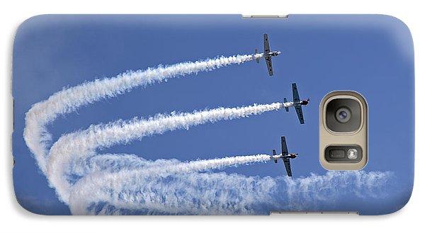 Yaks Aerobatics Team Galaxy S7 Case by Jane Rix