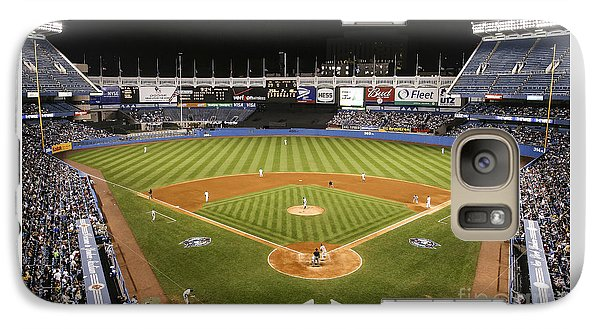 Yankee Stadium Galaxy S7 Case by Chuck Spang