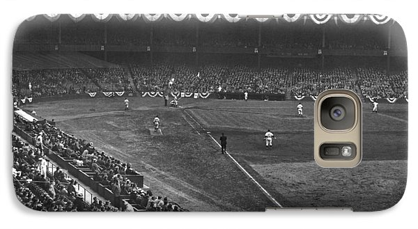 Yankee Stadium Game Galaxy S7 Case by Underwood Archives
