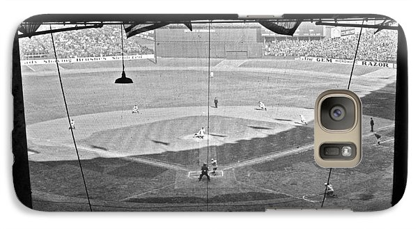 Yankee Stadium Grandstand View Galaxy S7 Case by Underwood Archives